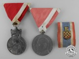 Three Second War Croatian Awards