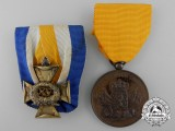 Two Second War Period Dutch Medals & Awards