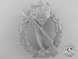 A German Infantry Badge; Silver Grade by R.S.S.
