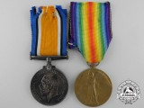 A First War British Medal Pair to the Gordon Highlanders