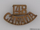WWI 148th Infantry Battalion Shoulder Title