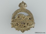 WWI 254th Infantry Battalion Collar Badge CEF
