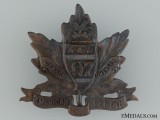 "WWI 97th Infantry Battalion ""Toronto Americans"" Cap Badge"