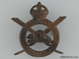 WWI Corps of Military Staff Clerks Cap Badge