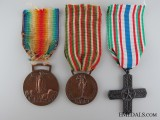 WWI Italian Armed Forces Group of Three
