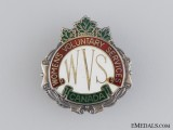 WWII Canadian Women's Voluntary Services Badge