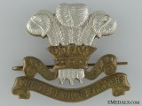WWII Prince of Wales Rangers (Peterborough Regiment) (MG) Cap Badge