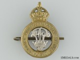 WWII Princess Patricia's Canadian Light Infantry Officer's Cap Badge
