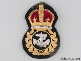 WWII RCN Chief Petty Officer's Cap Badge