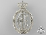 A Rare Reuss Silver Wedding Commemorative Decoration for Royal Guests 1884-1909