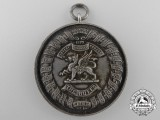 A 1921 Silver Royal East Kent Regiment Inter-Company Cross Country Medal