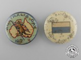 Two First War Australian Badges; 10th Battalion & 1917 Australia Day