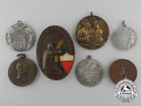 Denmark, Germany, Great Britain, Italy, Switzerland. Seven Shooting Medals