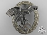 "An Early Luftwaffe Observer's Badge by Juncker; ""Thin Wreath"" Version"