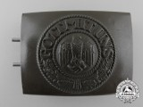 An Army/Heer Belt Buckle by RODO; Tropical-DAK Version