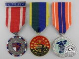 Three Canadian Korean Conflict Veterans Medals