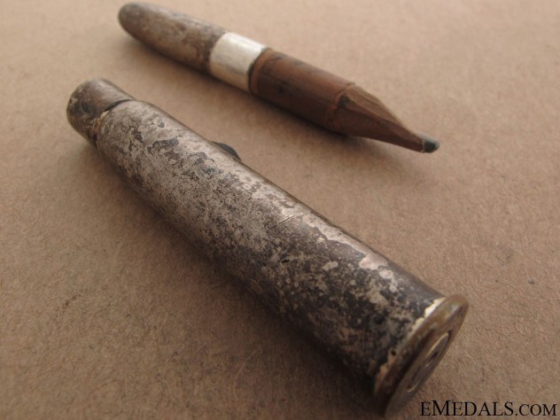 WWI Princess Mary Silver Bullet Pencil