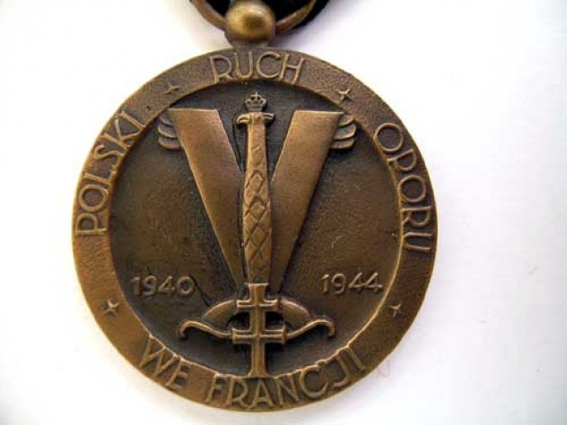 MEDAL OF POLISH ARMY IN FRANCE