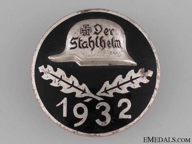 Stahlhelm Membership Badge 1932