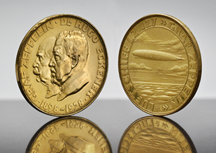 A Collection of Medals & Tokens from the Golden Age of Zeppelins