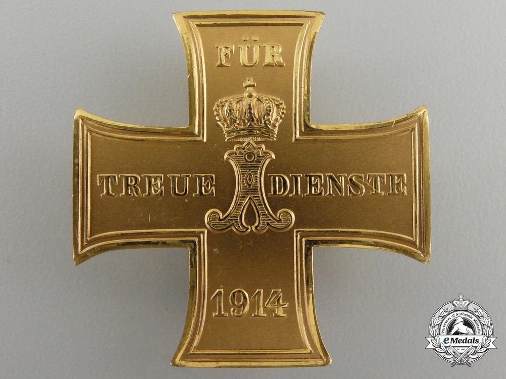 eMedals-A 1914-18 Schaumburg Lippe Merit Cross; First Class