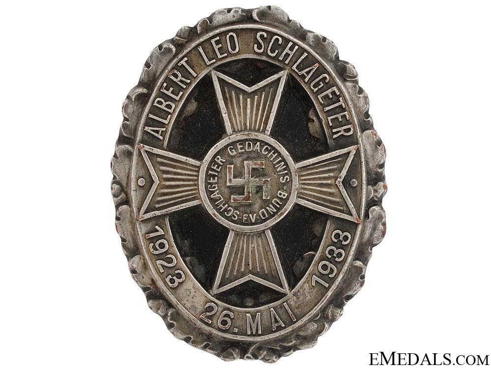eMedals-10 Year Schlageter Memorial Award 1923-33