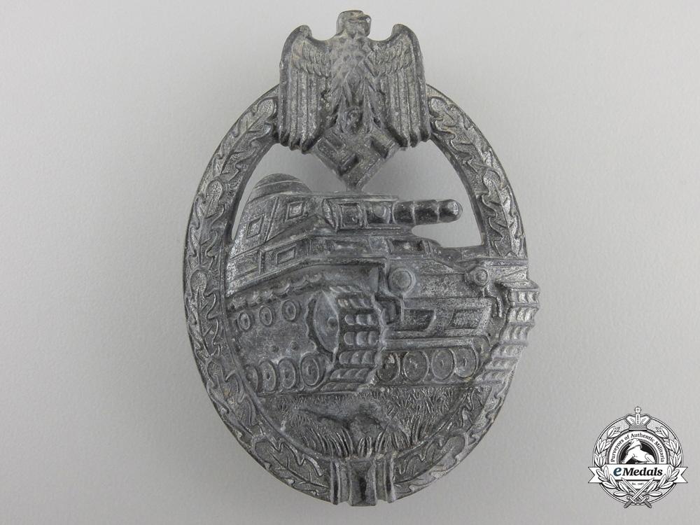 eMedals-ATank Assault Badge; Silver Grade