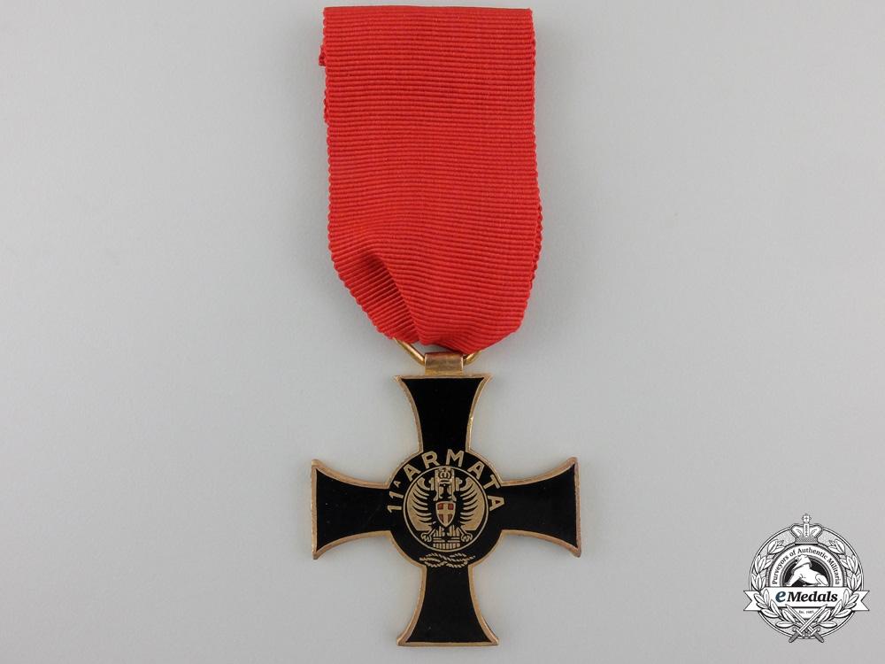 eMedals-A Second War Italian 11th Army Commemorative Cross