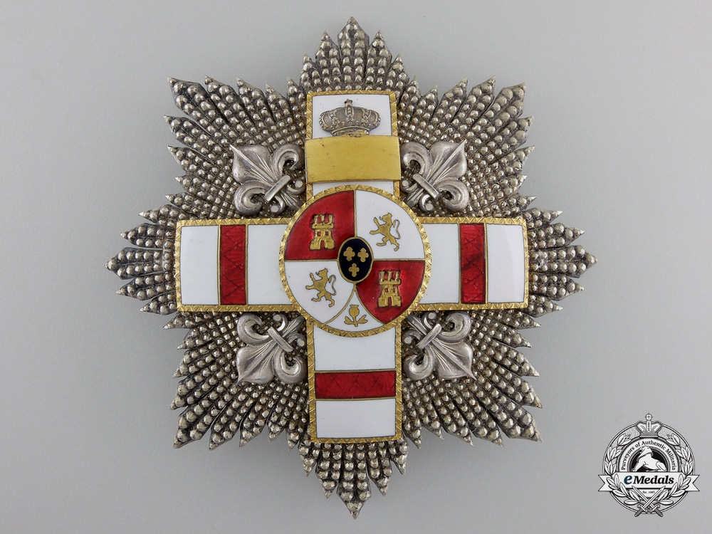 eMedals-A Spanish Order of Military Merit with White Distinction; Breast Star