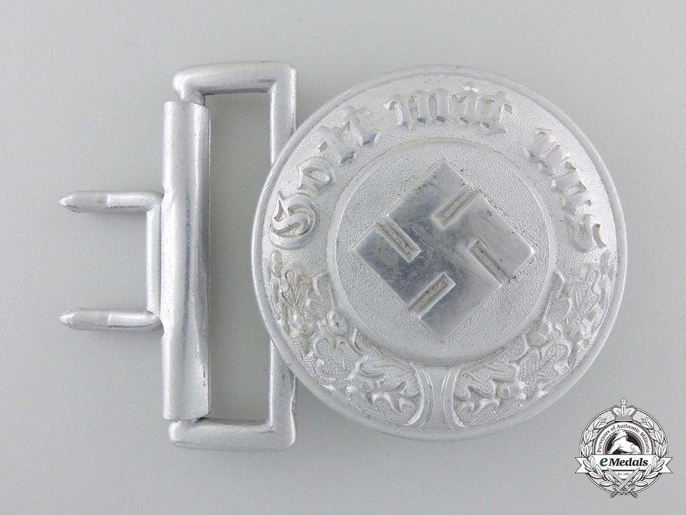 eMedals-A German Police Officer's Buckle by Assmann