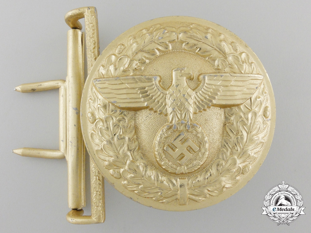 eMedals-A Political Leader's Belt Buckle by Friedrich Linden
