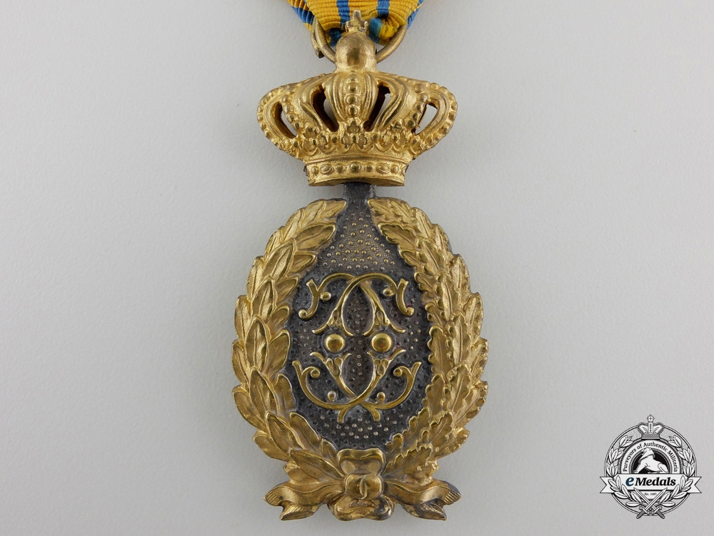 eMedals-A Romanian Officer's Badge of Honour for Twenty-Five Years' Military Service