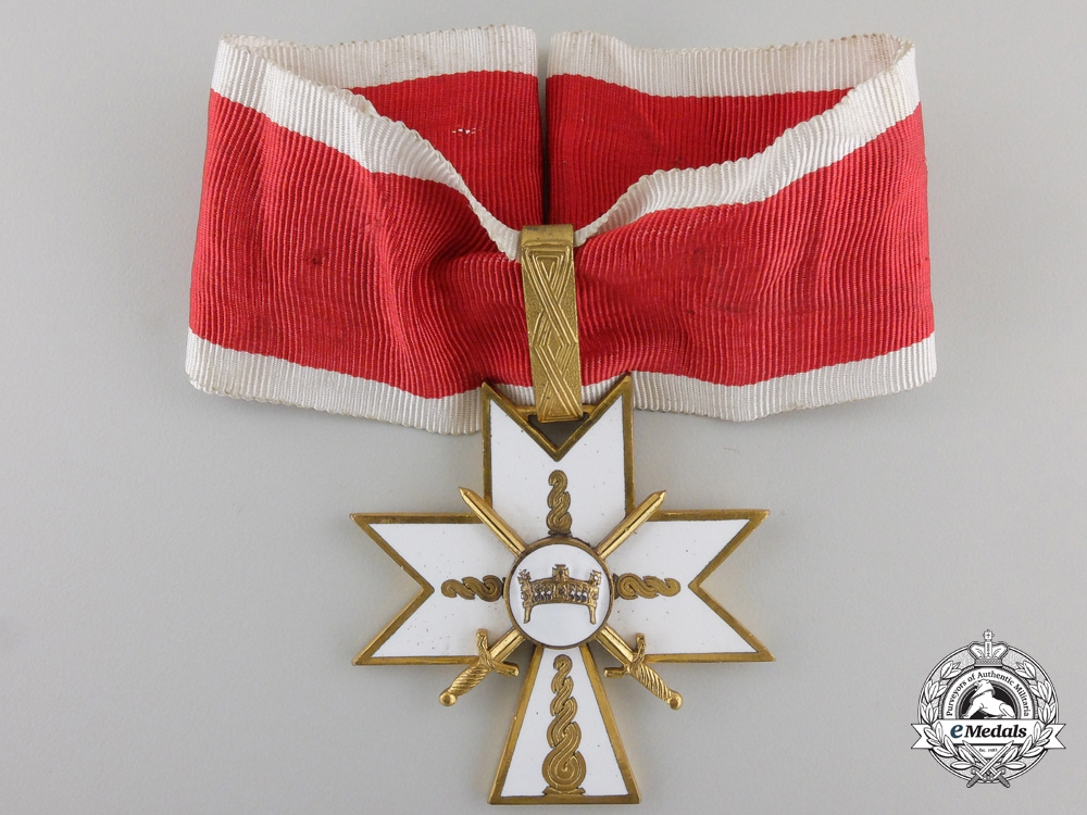 eMedals-A Croatian Order of King Zvonimir; First Class Cross with Swords
