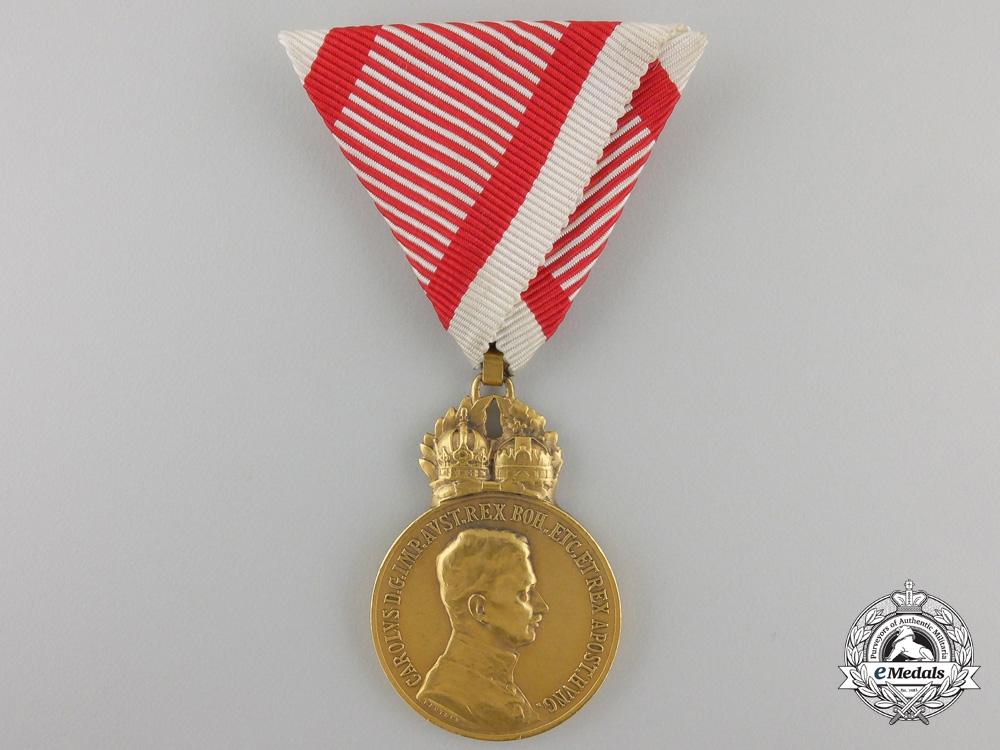 eMedals-An AustrianMilitary Merit Medal, Karl I (1917-1918)