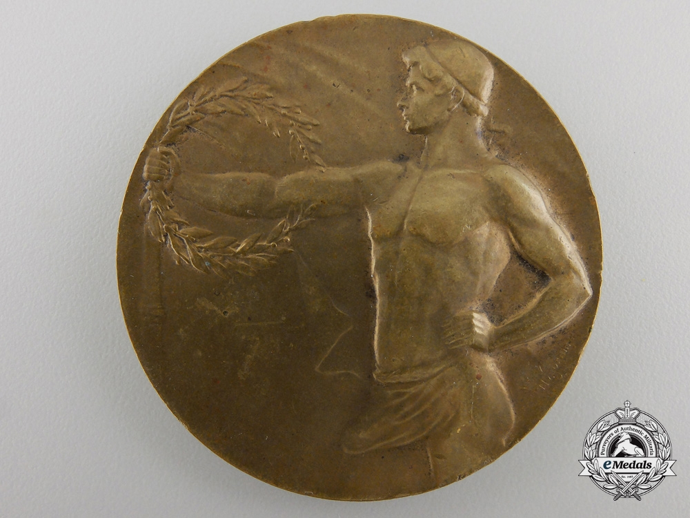 eMedals-A 1941 Croatian Grenade Throwing Competition Award