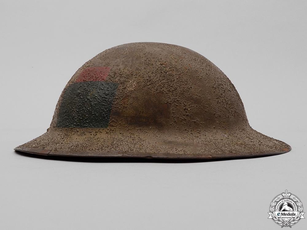 eMedals-A First War Mark II 102nd Infantry Battalion Helmet