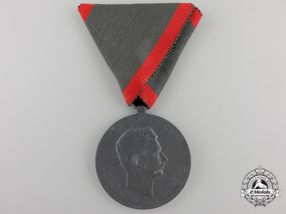 eMedals-A 1918 Austrian Medal for the Wounded by Winter & Adler