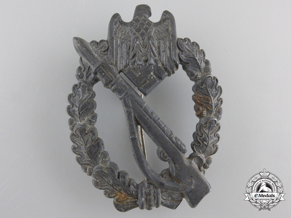 eMedals-A Silver Grade Infantry Badge by Sohni, Heubach u. Co./ Oberstein