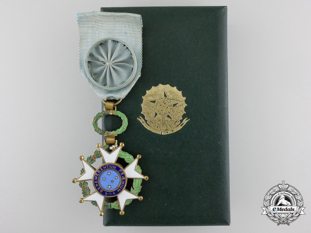eMedals-A Brazilian National Order of the Southern Cross; Breast Badge