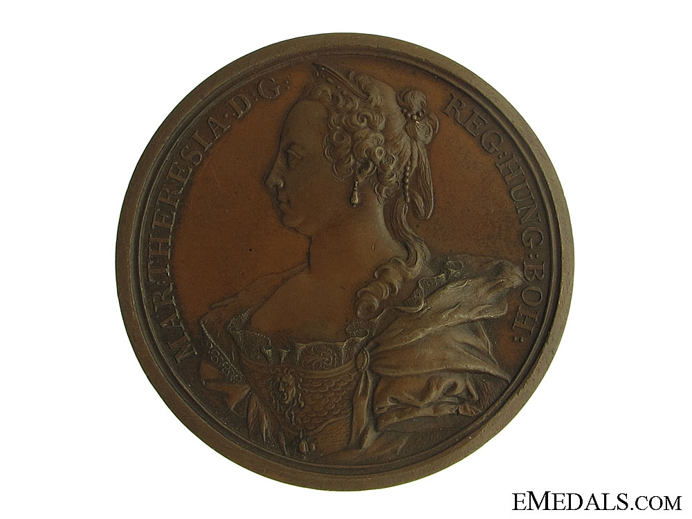 eMedals-1745 Medal of Maria Theresa