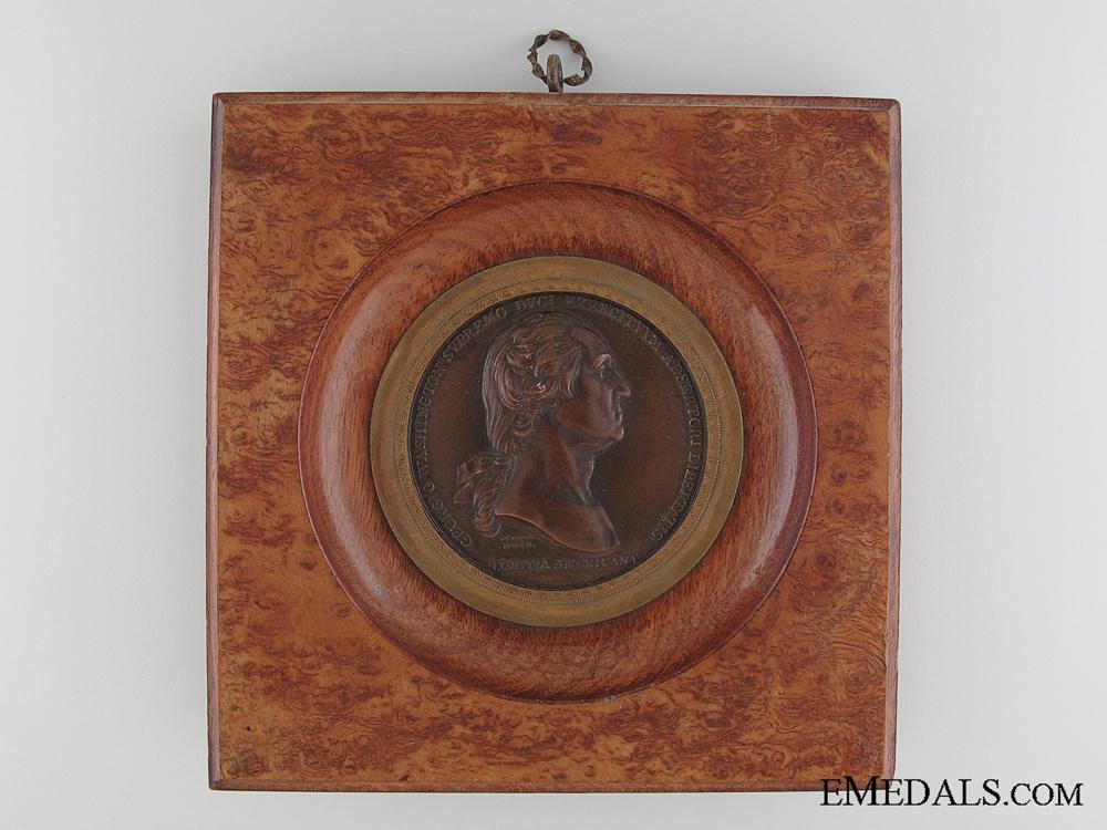eMedals-1776 Washington Before Boston Table Medal