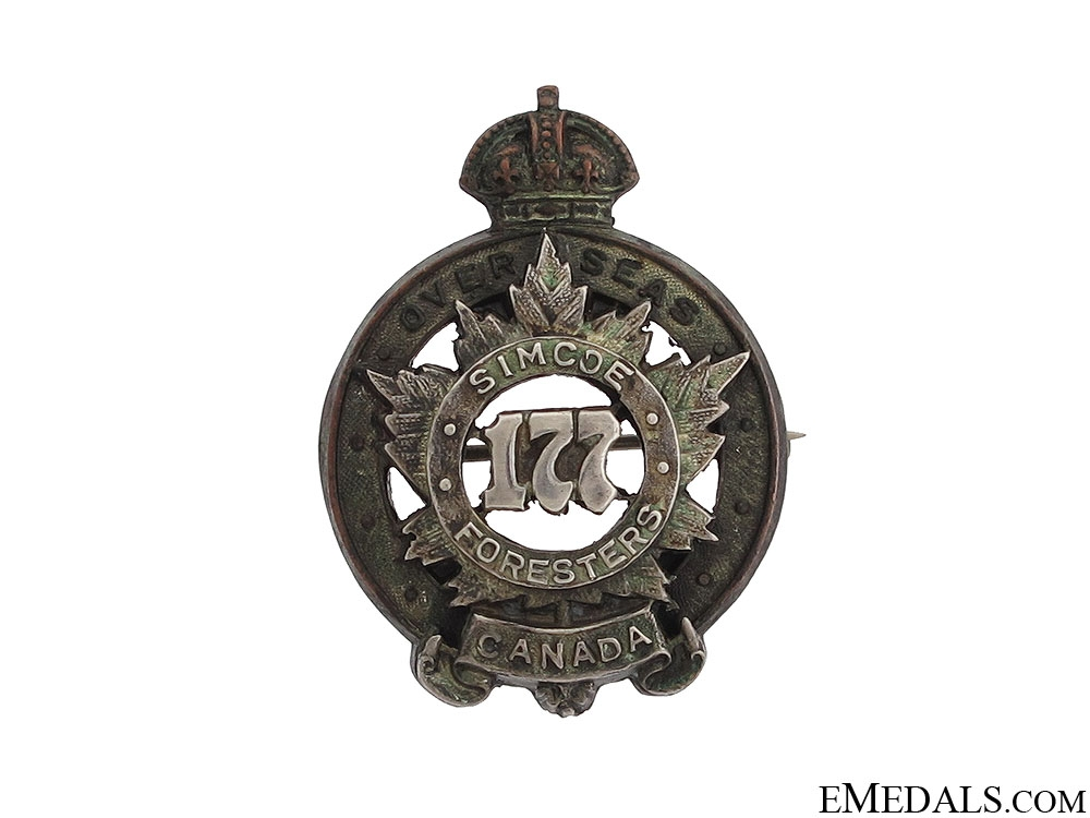 eMedals-177th Infantry Battalion Officer's Collar Badge