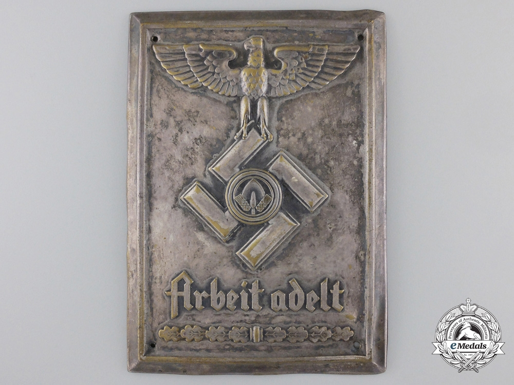 eMedals-AReich Labor Service Plaque