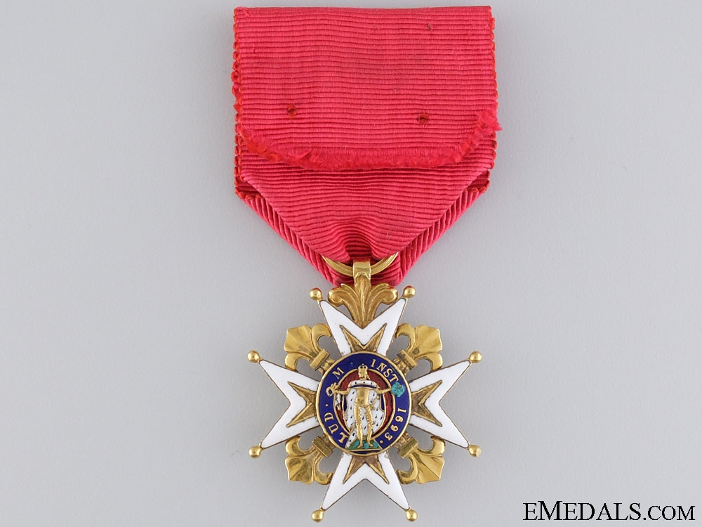 eMedals-1805 Royal Military Order of St. Louis in Gold