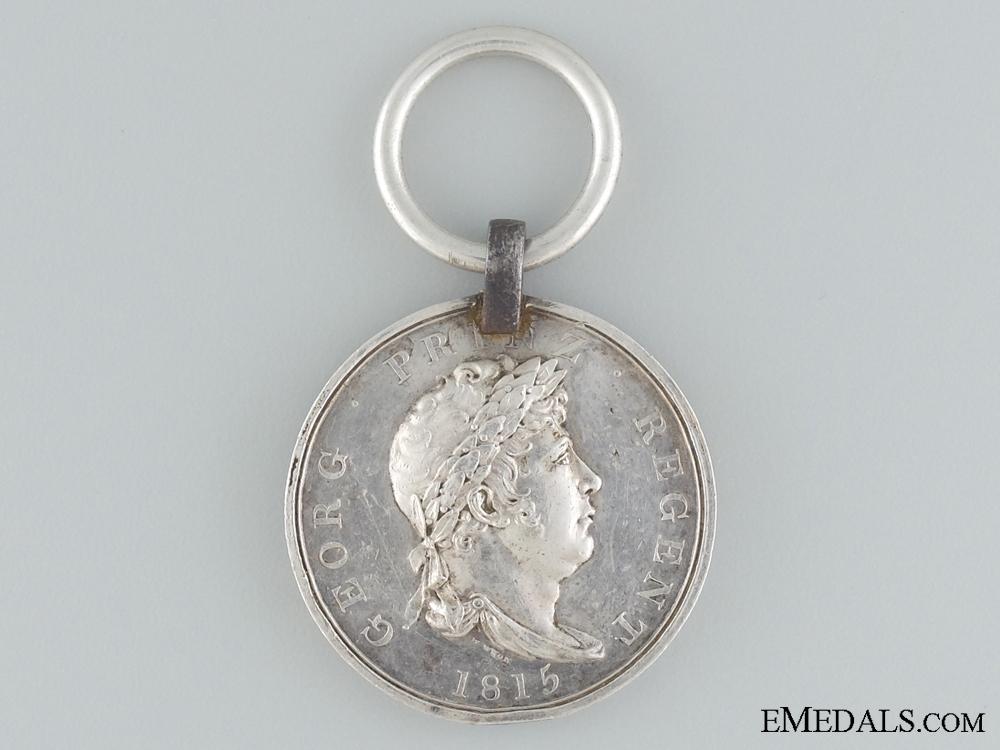 eMedals-1815 Hannover Waterloo Medal to the Landwehr Battalion Salzgitter