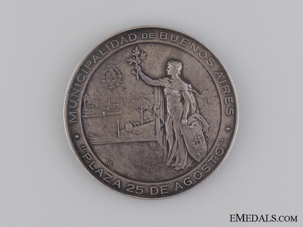 eMedals-1825-1925 Anniversary of Argentinean  Independence Medal