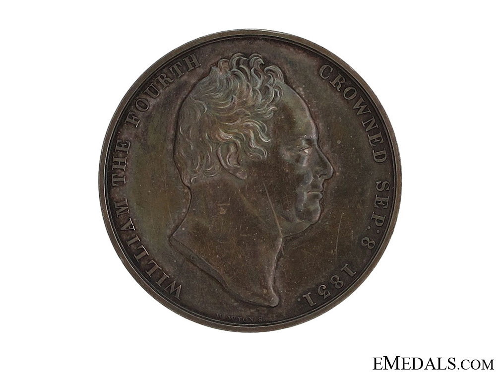 eMedals-1831 William IV Coronation Medal