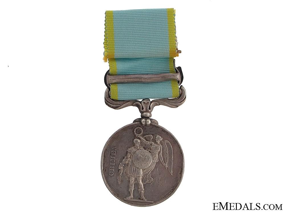 eMedals-1854-56 Crimea Medal - GR & DR. 2ND BTN. R