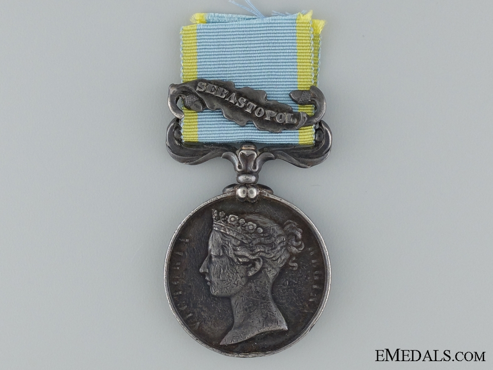 eMedals-1854-56 Crimea Medal to P. Assolent