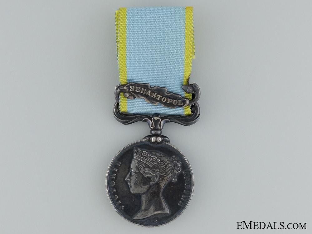 eMedals-1854-56 Crimea Medal to Adam Davidson